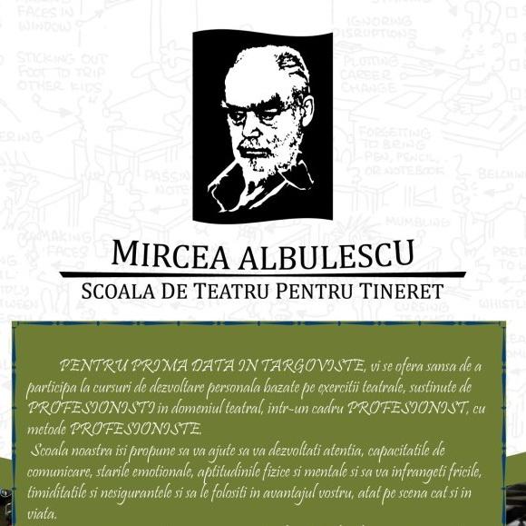afis_scoala_de_teatru_albulescu