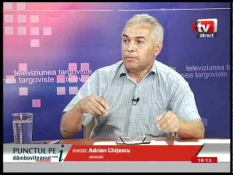 Avocatul Adrian Chiţescu, liderul PMP Dâmboviţa, a suferit un preinfarct
