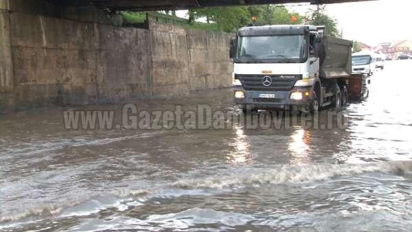 inundatii pasaj romlux targoviste (4)