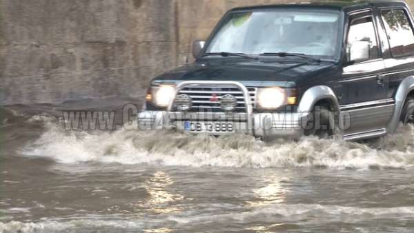 inundatii pasaj romlux targoviste (5)
