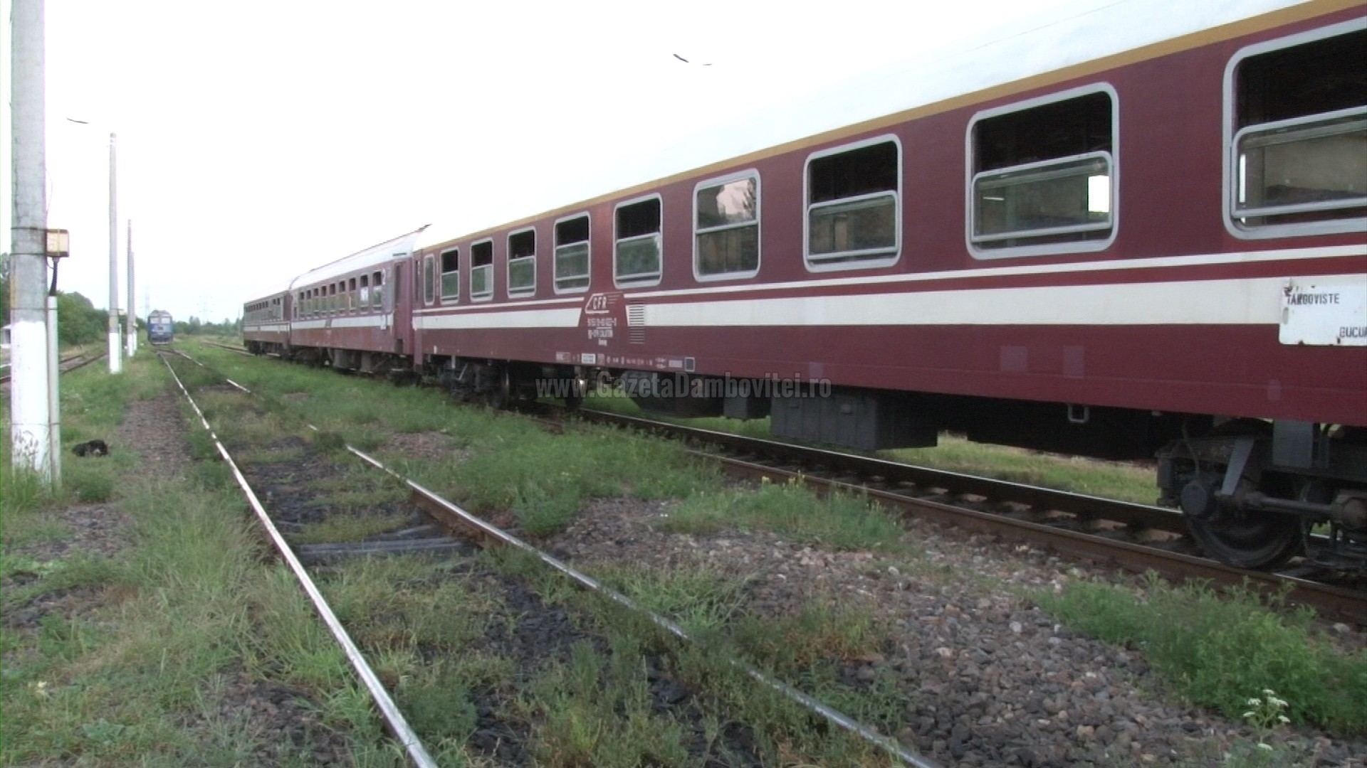 Hoții au furat cablurile de la instalațiile de dirijare a traficului feroviar între Titu și Ghergani