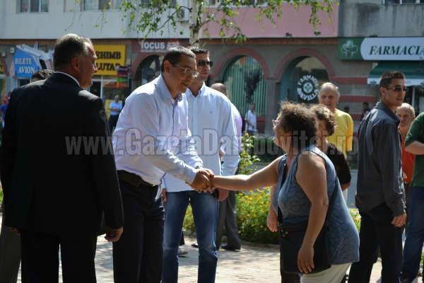 Victor Ponta vine săptămâna viitoare în Târgoviște. Vrea să se întâlnească cu simpatizanții săi