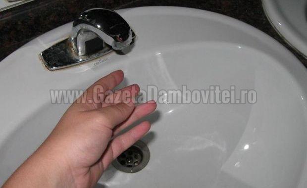Mâine, 4 iunie, municipiul Moreni, fără apă! Avarie pe conducta magistrală