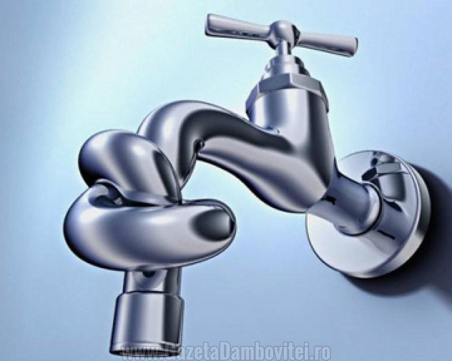 INFORMARE: Marți și miercuri se întrerupe furnizarea apei potabile în două comune din județ