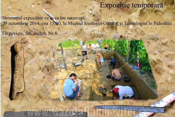 Muzeul Evoluției Omului și Tehnologiei în Paleolitic vă invită la expoziție