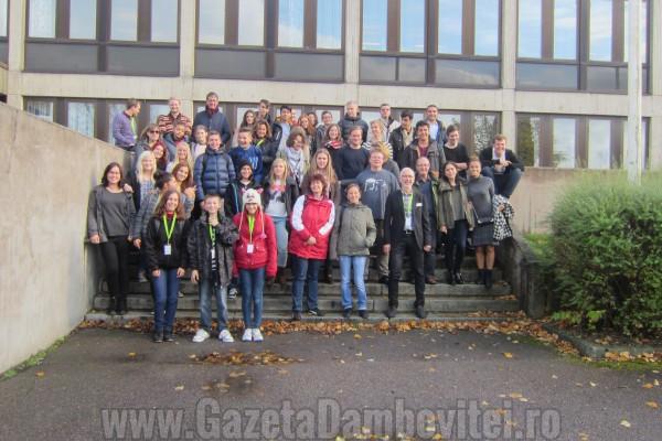 Elevi și profesori din Moreni, la o reuniune de proiect Comenius din Suedia