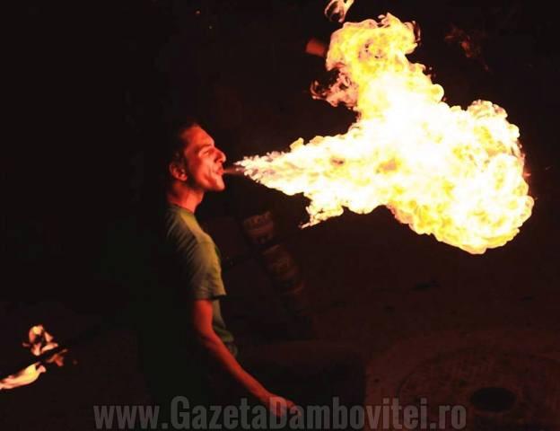 Artist targovistean: Luca, dragonul focului