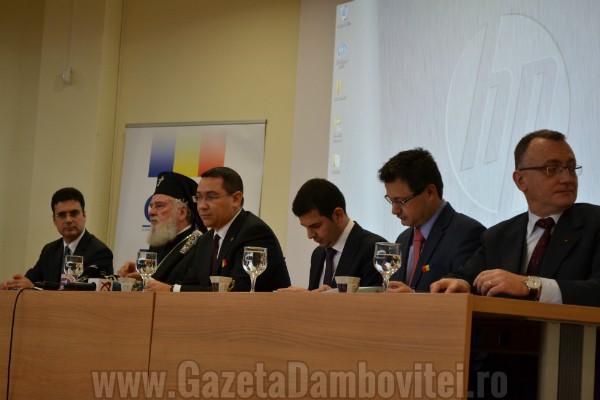 Victor Ponta către rectori: