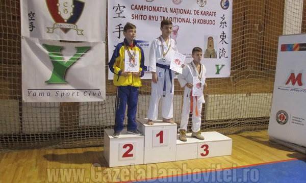 Dâmboviţa, pe podium la CN de Karate Shito Ryu Tradiţional şi Kobudo. Iată rezultatele!