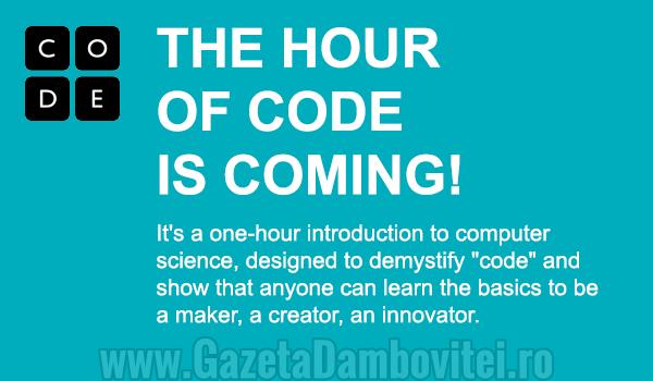 VIDEO: Hour of Code, posibilitatea prin care elevi și profesori pot învăța programare