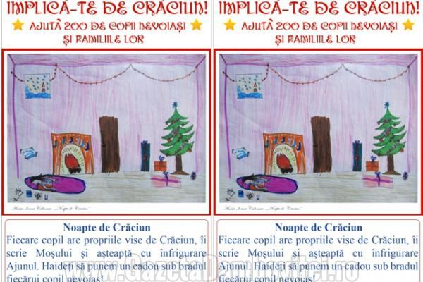 """""""Implică-te de Crăciun!""""- o campanie umanitară susţinută și de Gazeta Dâmboviţei"""