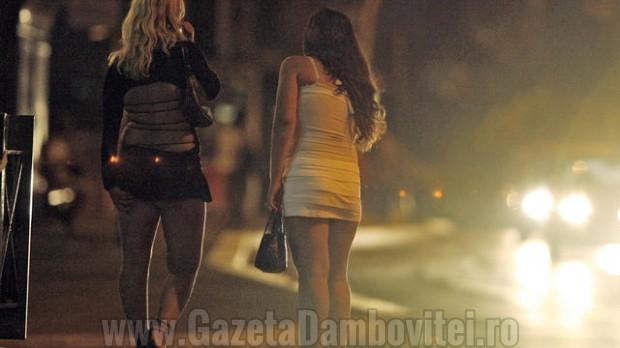 Razie printre prostituatele din Moreni! 9 au fost amendate