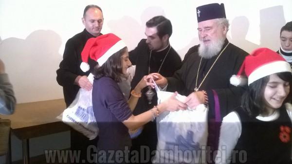 Daruri pentru copii instituționalizați, la Centrul Social al Arhiepiscopiei Târgoviște