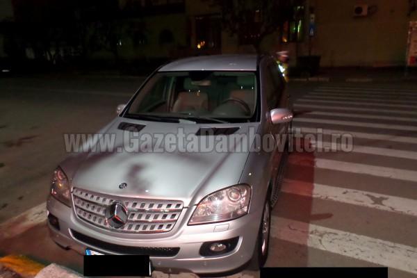 FOTO - Poliția locală ne arată  cine a mai oprit aiurea în Târgoviște!