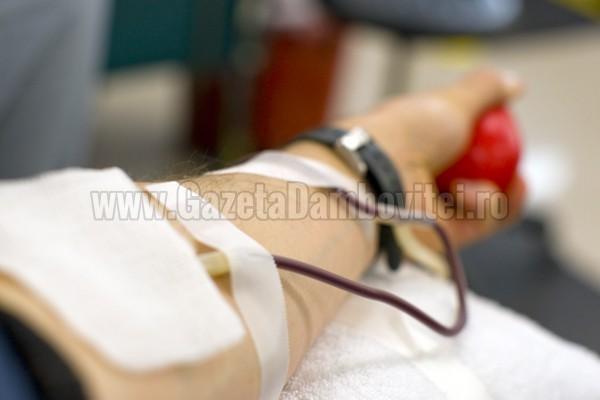 Centrul de Transfuzie Sanguină Dâmbovița așteaptă donatorii de sânge și în ziua de sâmbătă, 26 septembrie