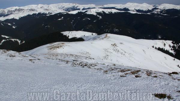 Meteorologii anunță ninsoare în zona montană a județului