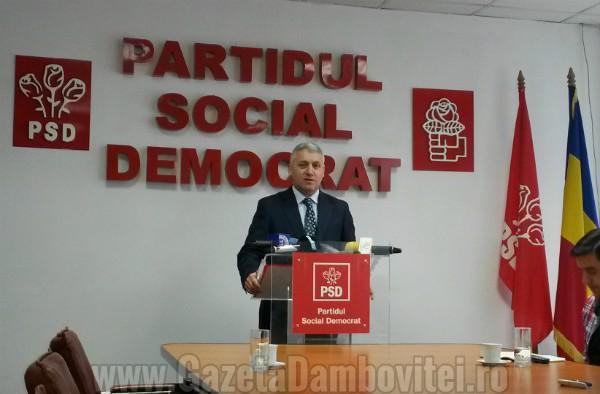 Ciolacu: Țuțuianu a pus condiții pentru revenirea în PSD