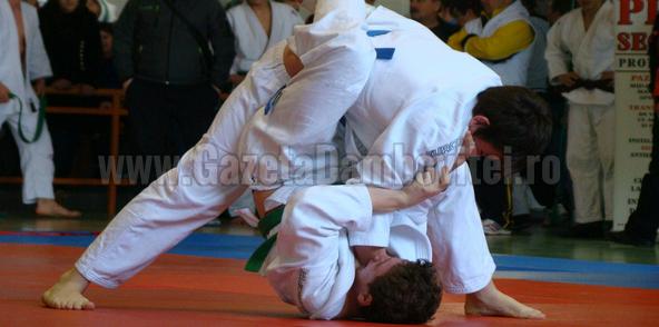 Aur pe echipe pentru secția de judo a CS Târgoviște