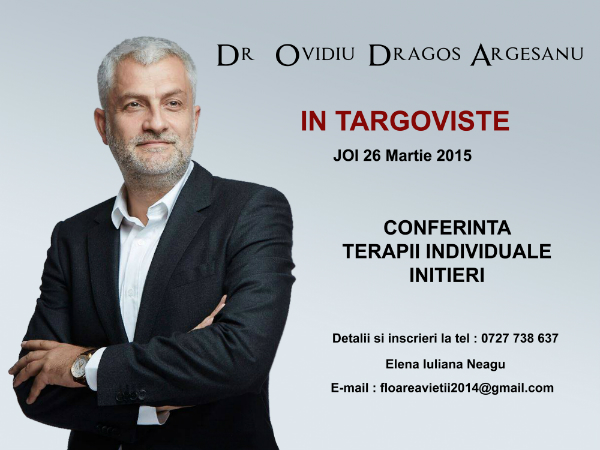 Argeseanu Dragos conferinta Tragoviste
