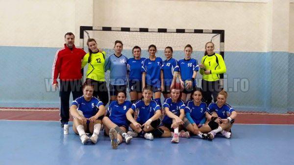 Handbal: CSŞ Târgovişte, în Turneul Semifinal Junioare 1 feminin