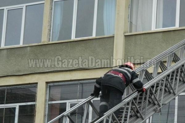 Exerciții de evacuare la școlile din Târgoviște