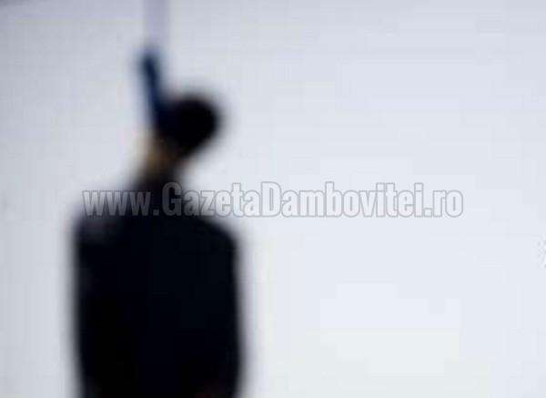 Moreni: Bărbat găsit spânzurat