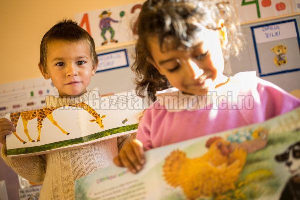 Fiecare Copil în Grădiniţă - program pentru micuţii din etnia romă