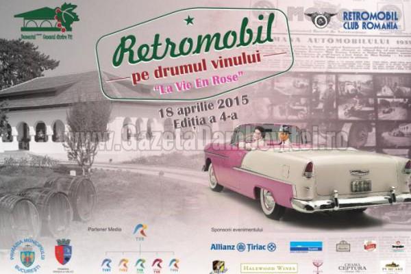 Retro - Parada Primăverii revine în parcarea Ploieşti Shopping City cu peste 30 de automobile de epocă