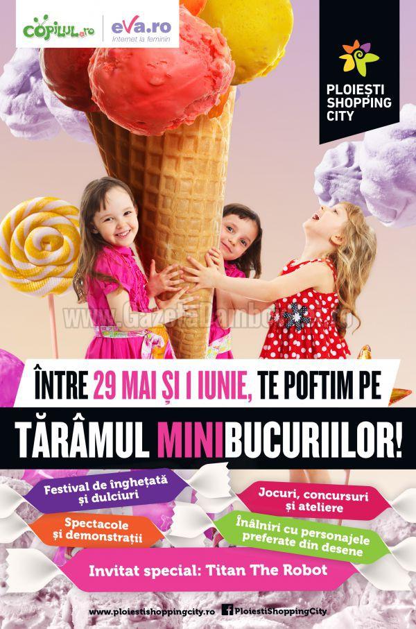 Poster eveniment Taramul Minibucuriilor