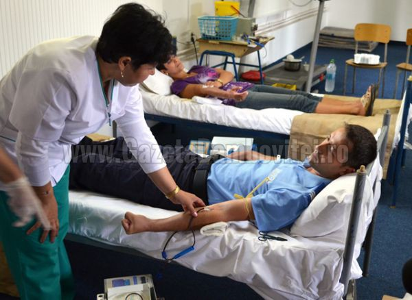 donare sange jandarmi