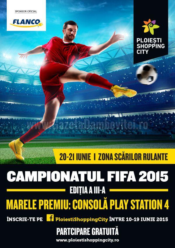 Campionatul Maraton FIFA 2015, editia a IIIa la Ploiesti Shopping City