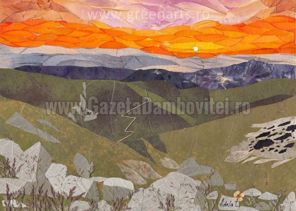 Sunset inTarcu Mountains
