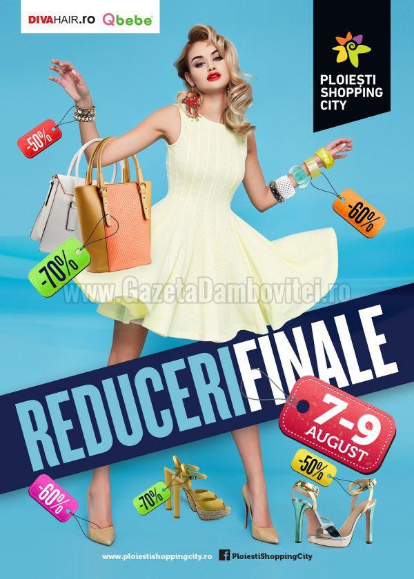 Reduceri finale la Ploiesti Shopping City