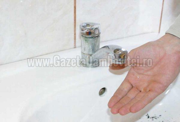 Astăzi se oprește apa în Târgoviște și Moreni