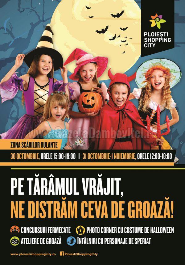 Halloween la Ploiesti Shopping City