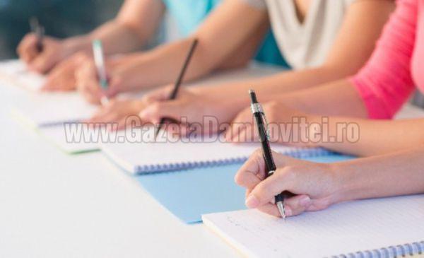 EVALUARE NAȚIONALĂ DÂMBOVIȚA: 3.797 de elevi au susținut, astăzi, proba scrisă la limba şi literatura română
