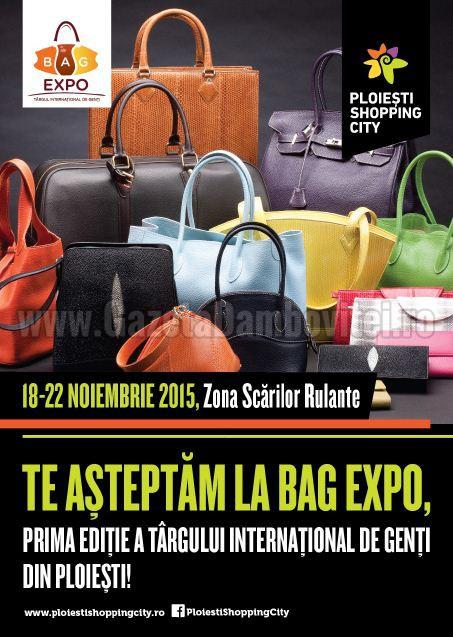 Bag Expo in Ploiesti Shopping City