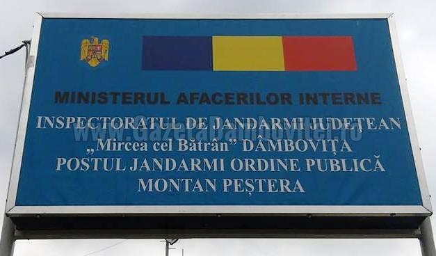 Postul de Jandarmi Montan  Peştera