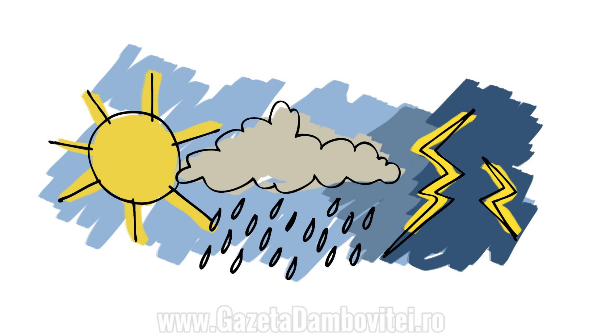 În weekend vremea se menține caldă, maximele ajungând și la 14 grade Celsius!