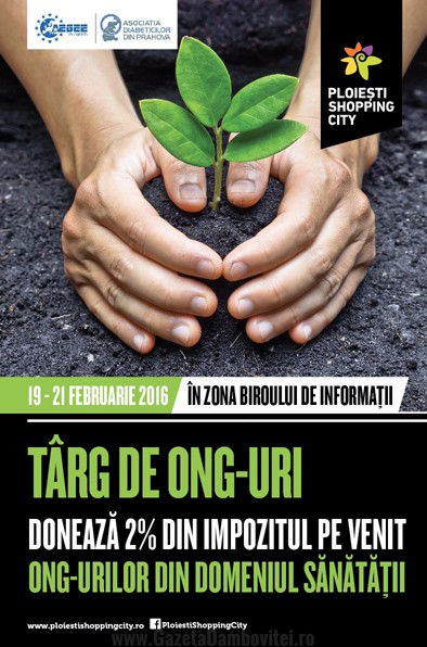 Targ de ONG-uri la Ploiesti Shopping City