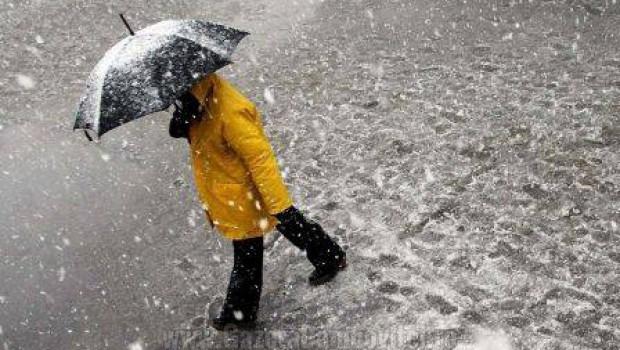 METEO: Zi de marți cu vreme închisă și precipitații mixte