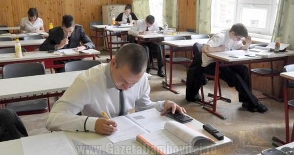 DÂMBOVIȚA: 94% dintre elevii care au făcut contestații la BAC au primit note mai mari