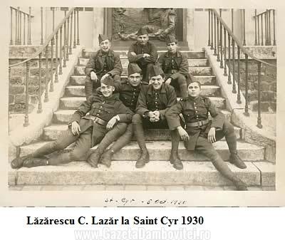 Lăzărescu C. Lazăr la Saint Cyr 1930