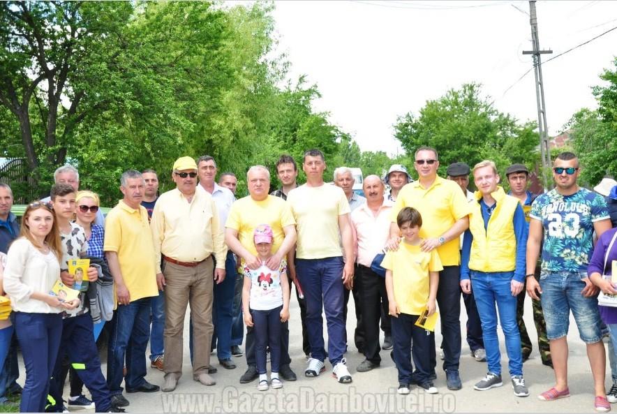 Echipa PNL, hotărâtă să câştige la Bilciureşti!