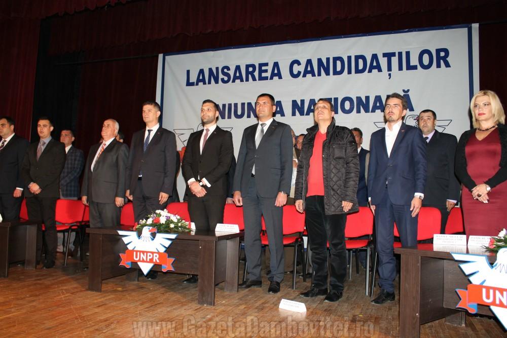 lansare candidati UNPR