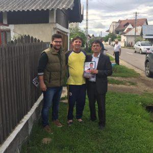 Discuţii cu cetăţenii din satul Picior de Munte, Dragodana.