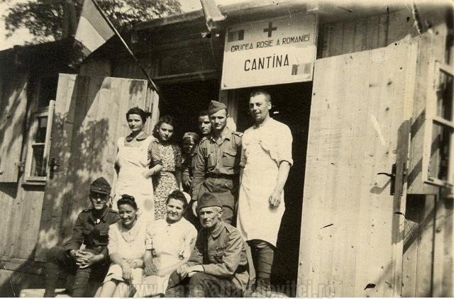 Cantina Crucii Roșii Române -1945