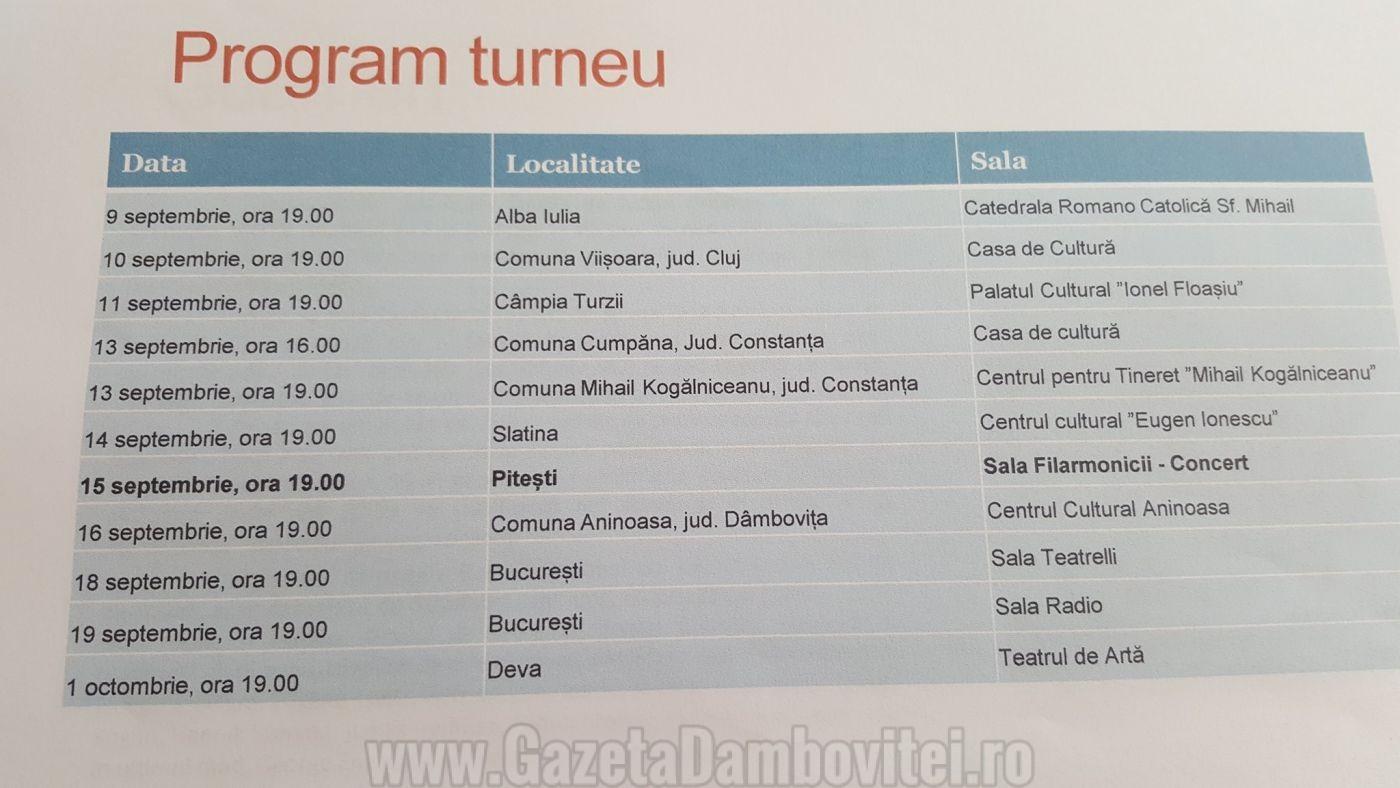 program turneu