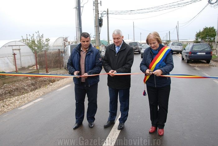 Inaugurare DJ 711 C Băleni - Nucet