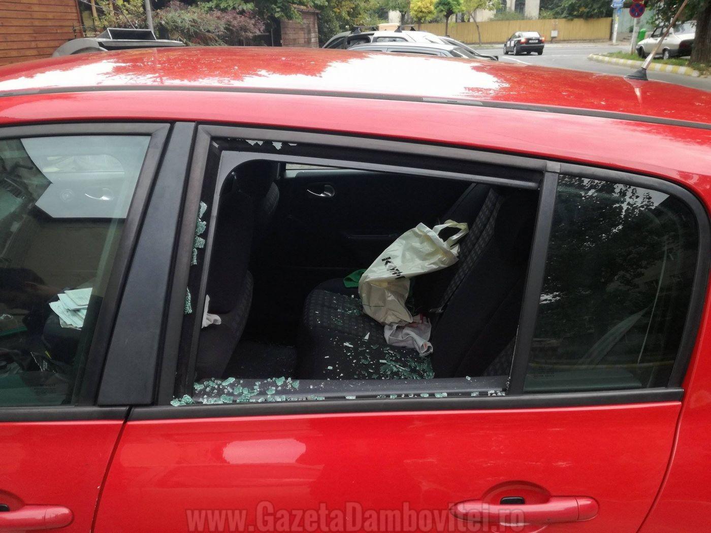 masina-vandalizata-targoviste-1